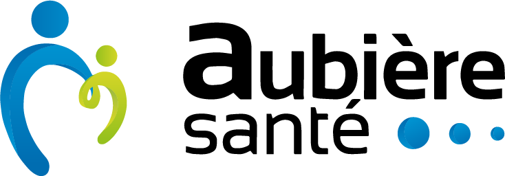 Aubiere Sante Logo
